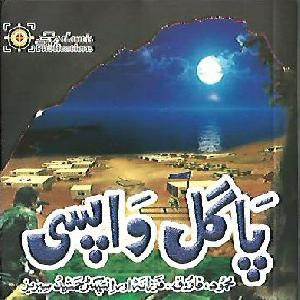 Pagal Wapsi Inspector Jamshed Series by Ishtiaq Ahmed