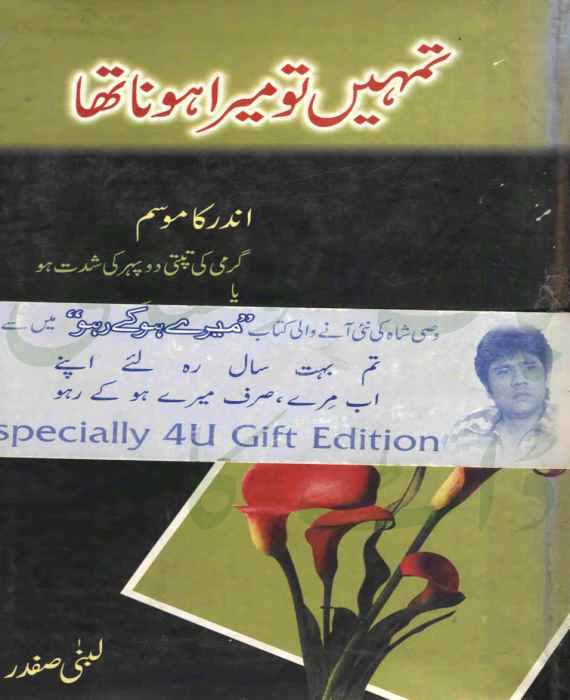 Tumhen To Mera Hona Tha by Lubna Safdar Download PDF