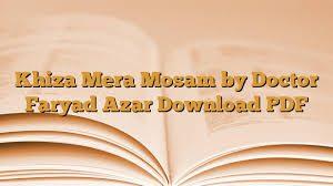 Khiza Mera Mosam