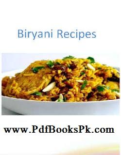 Biryani Recipes Method Collection in Urdu by pdfbookspk