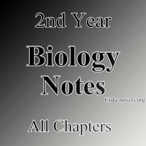2nd year Bio